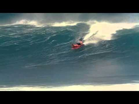 George Greenough On Maui In 1967 in Slo-Mo