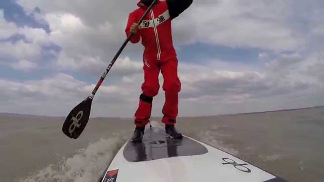 0704015 SUP Downwind Session Lake Neusiedl
