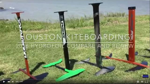 2016 Hydrofoil Selection Guide Review and Comparison