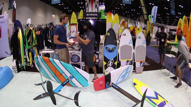 2017 F-One Foilboards at 2016 Surf Expo