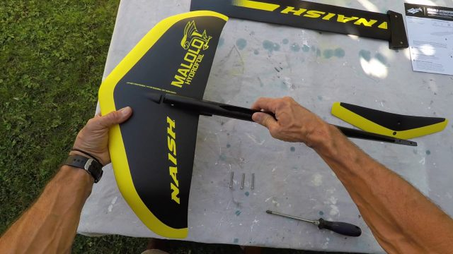 2017 Naish Malolo Hydrofoil Assembling – Surf/SUP foil part 2