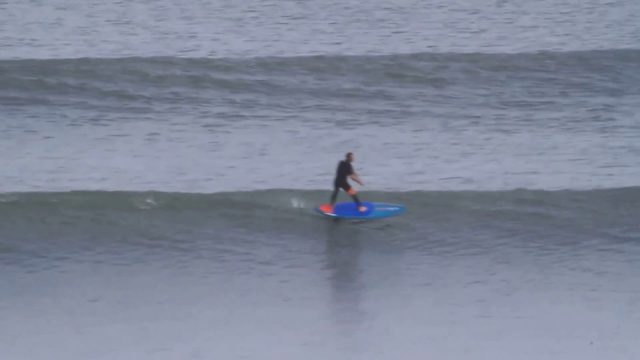 amit inbar sup foil 2 k long wave staeboard  wide point 8'2 and go foil-עמית ענבר גולש סאפ פוויל