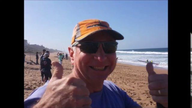 Carnage during Durban Downwind 2017 at La Mercy