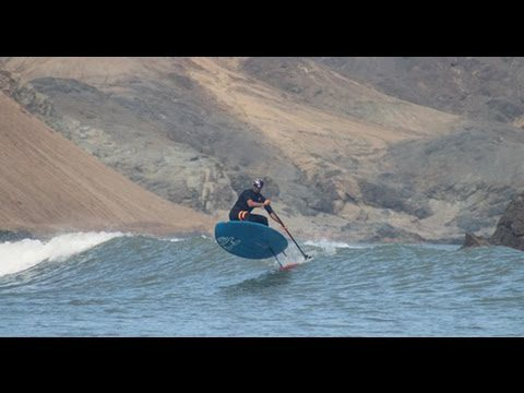 Could This Be The Longest Sup Foil Wave Ever Ridden? Amit Inbar in Chicama Peru