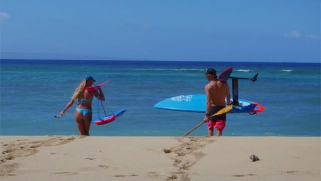 Couple lives SUP Foil Surfing Dream on Maui | SUP The Mag