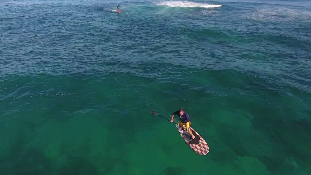 Dave Kalama and Alex Aguera Go Foil'ing in Clear Maui waters March 3rd