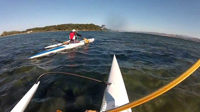 DownWind Pirogue OC1 – Six-Fours Sablettes – Mistral