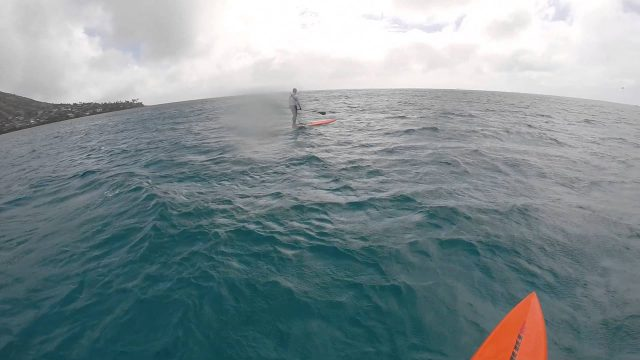 Downwind Run with the S.I.C. Bullet-14 V3 SUP Race Board
