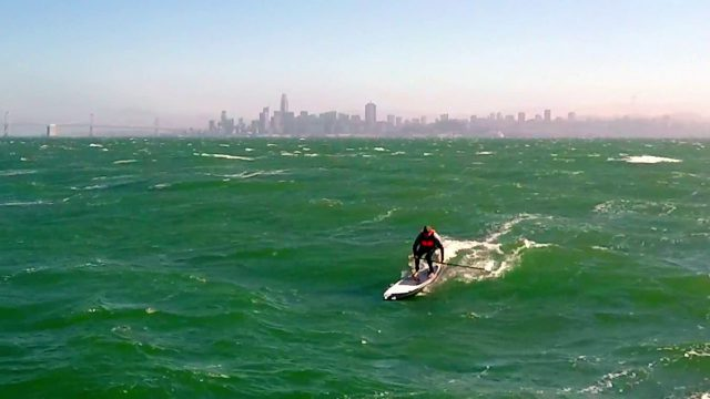 Downwind Safari PEAK:  SUP Downwinding in San Francisco Bay's Olympic Circle