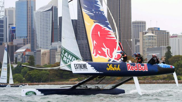 Extreme Sailing Series | Foil Racing in the Sydney Harbor