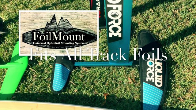 FoilMount Universal Hydrofoil Board Mounting System Tutorial