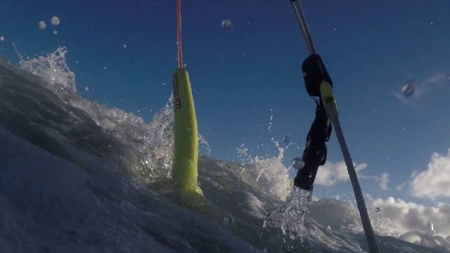Go Foil towing with a Kite Foil and Sup Foil Board
