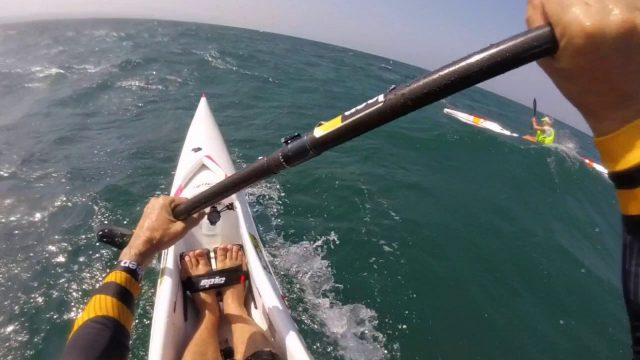 GoPro – Carly's First Downwind on a Surfski