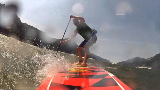 Gorge Paddle Challenge 2012 SUP Downwind Race