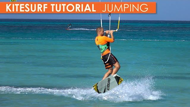 How to Kitesurf: Jumping, Part 1: small jumps, medium jumps & mistakes