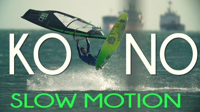 KONO | Extreme Slow Motion Windsurfing [480 FPS]