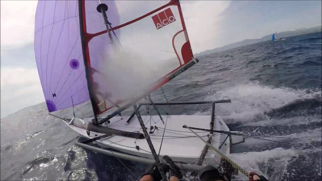 Musto worlds 2017 palma downwind