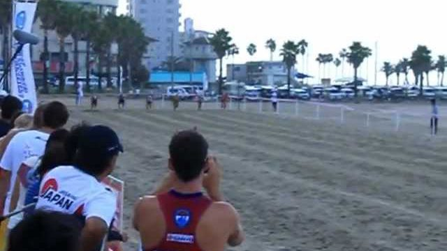 Sanyo Bussan International Lifesaving Cup 2012 – Male Beach Sprint – Day 2