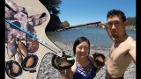 Spearfishing and Freediving Catch n Cook w/ the Girlfriend and Wilderness Medic