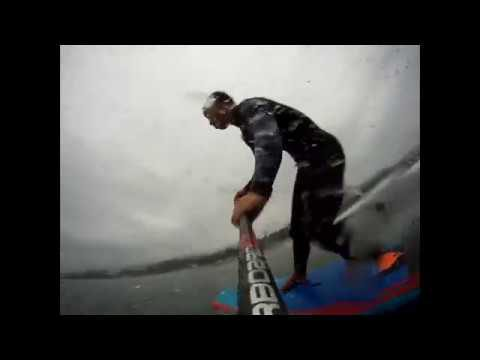 "STARBOARD SUP/Go Foil ""Sup Tomo"" HydroFoiling session in Japan."