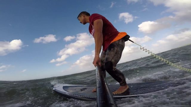 SUP Downwind – (30-50 knts) Cornwallis to Blockhouse Bay