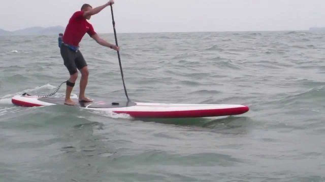 SUP Downwind Hong Kong – Red Paddle Red Air Elite 14′