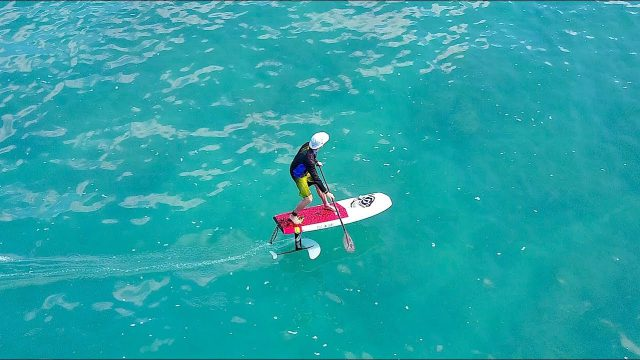 SUP Foil R&D: testing the Easy Foiler Stand Up Paddleboard and hydrofoil