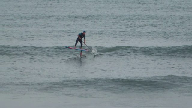 SUP TOMO/STARBOARD HyperNut/GoFoil SUP HydroFoil surf session