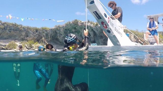 Vertical Blue 2016: Freediving the Deepest Blue Hole in the World