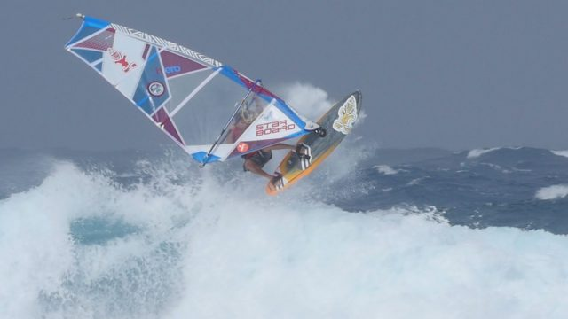 White Water Christmas Windsurfing With Zane Kekoa Schweitzer on West Maui
