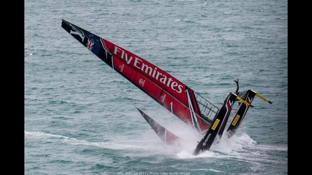 Why did New Zealand capsize? Andy Claughton of Land Rover BAR discusses the likely causes