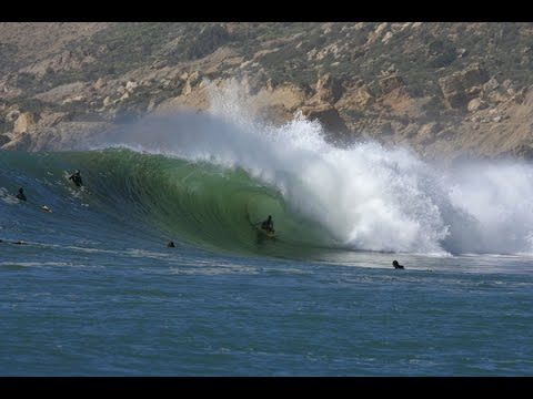 SAFI Surfing Morocco Winter 2017 …..best barrels by Amine Nader