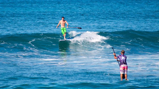 SUP Surfing: Tommy Chun-Ming and Kevin Fung Go South