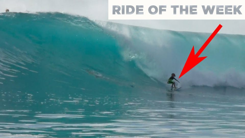 11 Year Old Surfing Double-Overhead Waves | Gromheaven