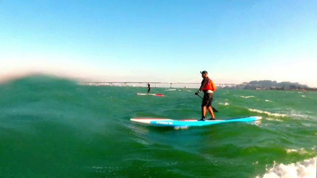 Barbary Gost – SUP downwinder from Treasure Island to Emeryville
