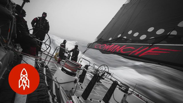 Across the Ocean in a Work Week: Shattering the Transatlantic Sailing Record
