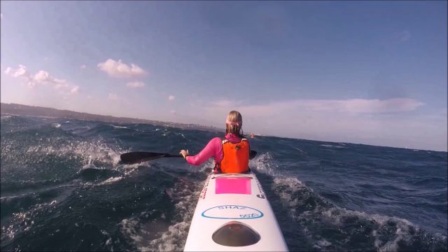 Amazing Downwind Run – 2 Strokes 22 Seconds