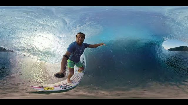 Anthony Walsh and Matahi Drollet POV in Tahiti.