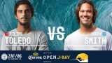 Filipe Toledo vs. Jordy Smith – Quarterfinals, Heat 3 – Corona Open J-Bay 2017