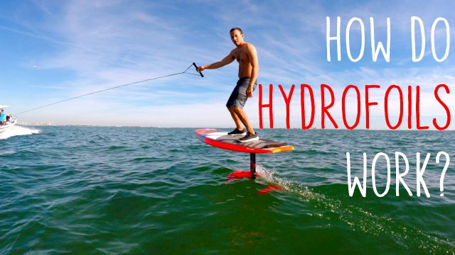 How do hydrofoils work?