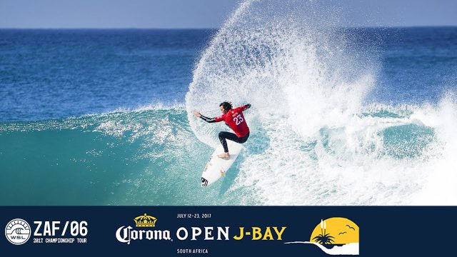 Jordy Responds to Another Heat Re-Surf With 10-Point Ride – Corona Open J-Bay 2017