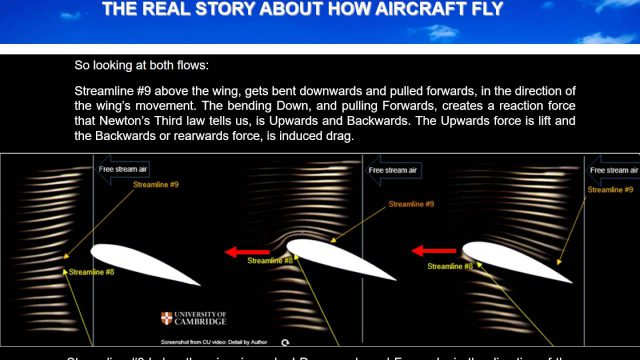 Wings don't suck! How wings work and planes really fly.