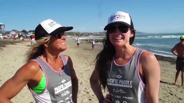 DJ and Lacie talk about the Prone Paddleboard technical race at the Pacific Paddle Games