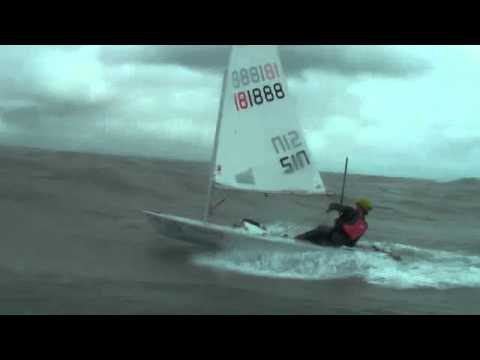 Laser Sailing Downwind
