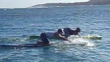 Molokai workout with Eric Abbot and Mikey Cote