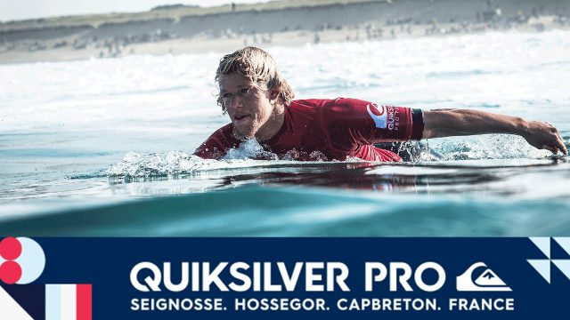 Florence vs. Ferreira vs. Asing – Round One, Heat 5 – Quiksilver Pro France 2017