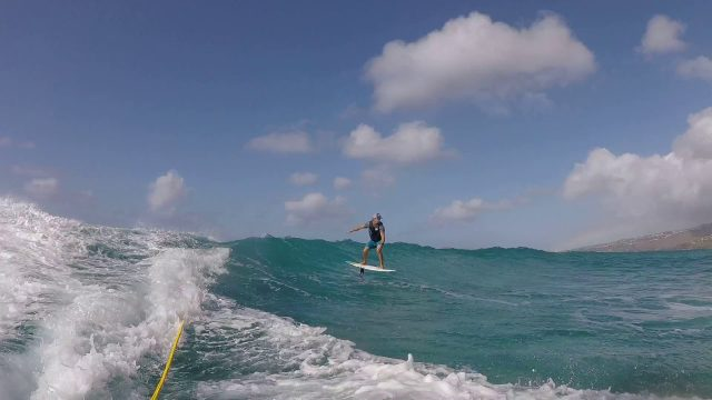 Foil – Travis Grant testing and developing the next NSP's chapter