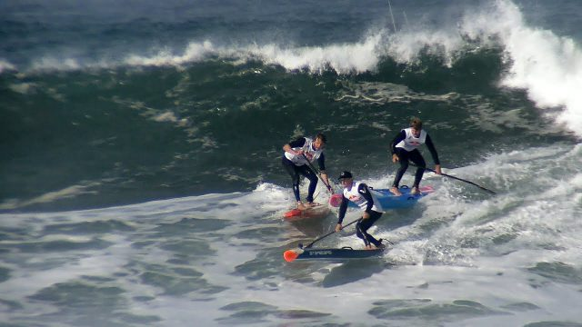 Ocean Beach Heavy Water 2017 – SUP Surfing