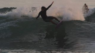 Ryan Burch Riding a 5'3″ Squit Fish at Home