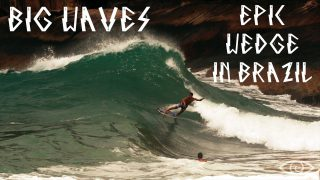 THE MONSTER FROM SUNUNGA – Renato Lima Professional Skimboarding at EPIC WEDGE in Brazil
